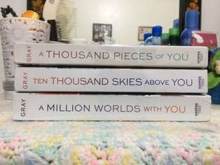 Firebird Series (A Thousand Pieces of You, 10 Thousand Skies Above You, A Million Worlds With You) by Claudia Gray