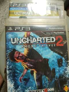 PS3 Game - uncharted 2, fifa 14 and gta v