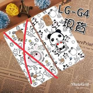 現貨LG G4 case韓國創意熊貓軟膠手機殼