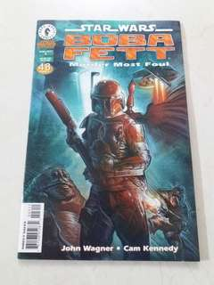 Star wars boba fett Comics
