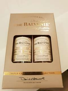 The Balvenie miniatures 12 and 16 years