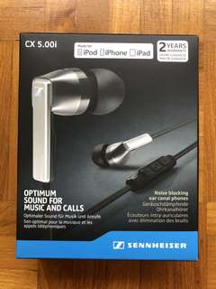 Sennheiser CX 5.00i (for iPhone/ iPad)