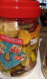 Mix dried fruit,dates etc..