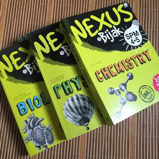 3 IN 1 NEXUS SPM REVISION BOOK | BIOLOGY PHYSIC CHEMISTRY