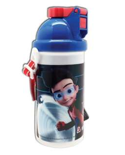 NEW Ejen Ali 500ml bottle with straw & strap