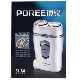 POREE PS186 Double Floating Blade Rechargeable Shaver