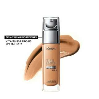 Loreal true match LiQuid foundation