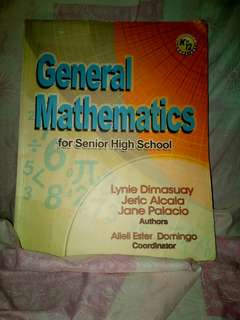 SHS General Mathematics