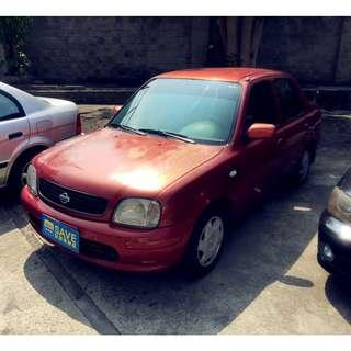 2001年 日產 MARCH 紅色1.3 售4.7萬
