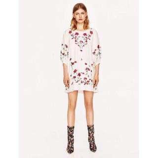 Plus Size Floral T-Shirt Dress