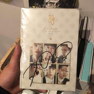 JBJ - Fantasy Sanggyun signed