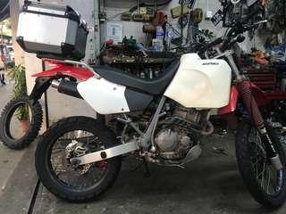 HONDA XR400(updated)