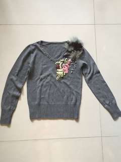 BN Winter Long Sleeves TOP [material something like cashmere]