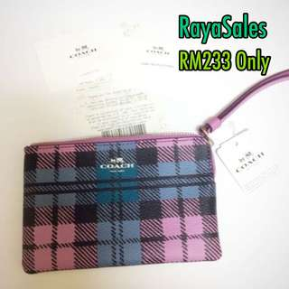 SALES New COACH wristlet