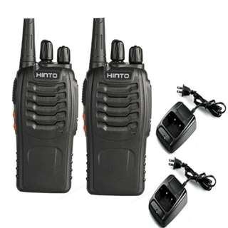 HINTO W-168 UHF 400-470 MHz Two-Way Radio SET OF2