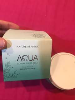 Nature Republic sleeping pack aqua