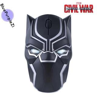 Wireless mouse🐾black panther ❤️avengers