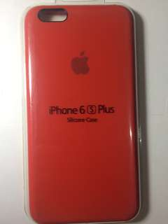 OFFICIAL APPLE SILICONE CASE (Product Red)