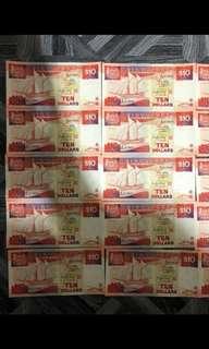 $10 Ship Series Notes