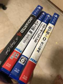 PS4 games clearing