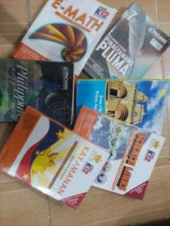 For sale grade 7 holy trinity books