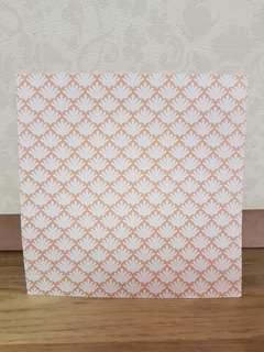 """Pop Artz 6x6"""" Scrapbooking Paper (Pink Shells)"""
