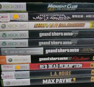 Clearance Sale! Xbox 360 Games