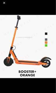 NEW ETwow Scooter (+ Booster) in Orange