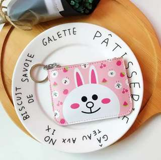Card holder + pouch + key ring (3 in 1)