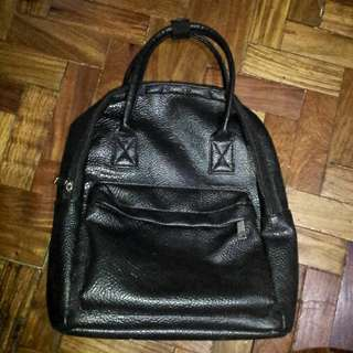 ⚠SALE⚠ Parisian Black Back Pack/Hand Bag