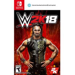 WWE W2K18 NINTENDO SWITCH