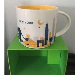 authentic NYC starbucks mugs