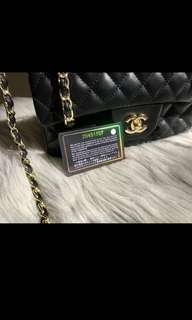 Classic Chanel Double-Flap Bag GHW