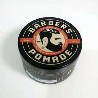 Barbers Strong Hold Pomade