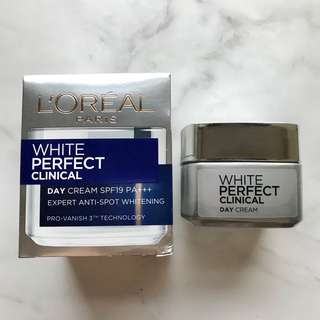 [Loreal] White Perfect Clinical Day Cream SPF19 PA+++ Expert Anti-Spot Whitening