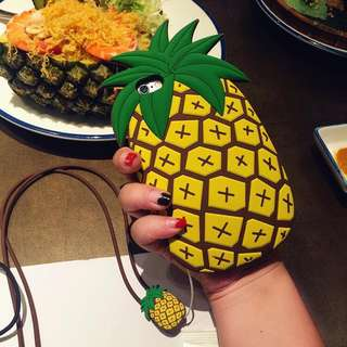 Iphone 5 Pineapple Case