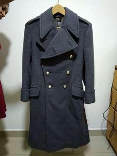 Ladies wool Trench Coat