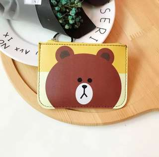 3 in 1 Card holder + pouch + key ring