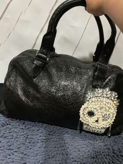 Authentic Anteprima Black Skull embellished handbag bags shoulder bag