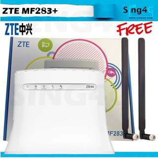 🚚 4G SIM ROUTER ZTE MF283+ (4G 150Mbps 4LAN 2TEL 32WIFI)