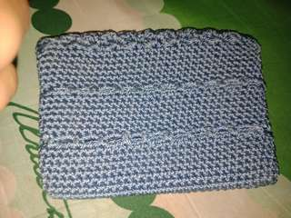 Old Navy Crochet Blue Coin Purse