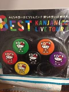 8est Kanjani Live Tour Commemorative Hello Kitty Metal Badges