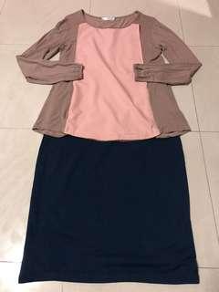 Maternity top & skirt