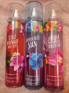 Bath & Body Works Perfumes