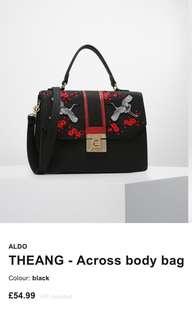 Aldo Embroidered Bag