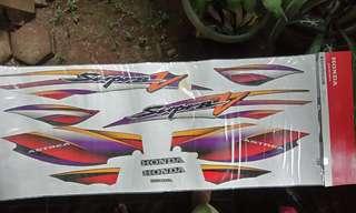 Stripping Original Honda Supra 100cc