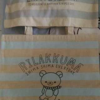 🚚 拉拉熊帆布包 手提袋