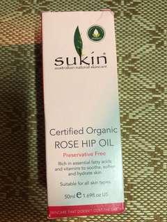 Sukin rose hip oil