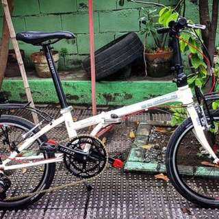 Dahon boardwalk d7 folding bike