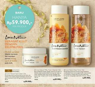 Love nature perawatan kulit